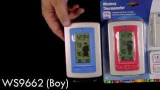 WS-9782 & WS-9662 Wireless Temperature Station