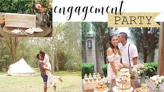 Our Engagement Party