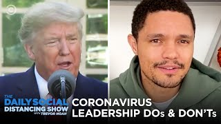 Leadership During Coronavirus: Where Does Trump Stack Up? | The Daily Social Distancing Show