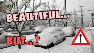 THE REALITY BEHIND THE BEAUTY OF THE SNOW IN TURKEY