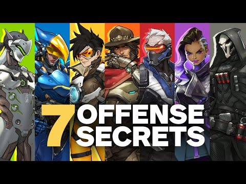 7 Secrets about Overwatch's Offense Heroes by Jeff Kaplan (Feat. Unseen Character Concept Art)