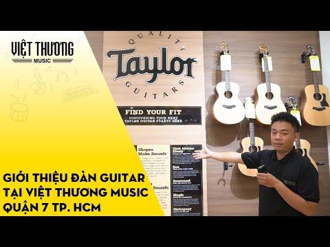 Giới thiệu đàn guitar tại Việt Thương Music Quận 7 TP. HCM