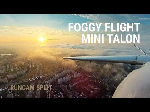 xuav-mini-talon-fpv--runcam-split--foggy-evening-flight