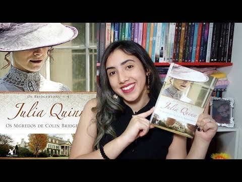?Os segredos de Colin Bridgerton ?| Julia Quinn | RESENHA | Leticia Ferfer | Livro Livro Meu