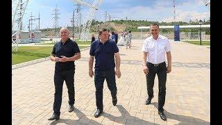 Губернатор Андрей Бочаров проинспектировал реализацию проектов благоустройства в Волгограде