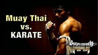 Kızgın Muay Thai Þampiyonu vs Karate Kickboks Þampiyonu  Lawrence Kenshin
