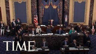 "Protesters Chant ""Kill The Bill! Don't Kill Us!"" At Senate Debate Vote To Repeal Obamacare | TIME"