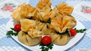 Вкуснейшие БЛИННЫЕ МЕШОЧКИ на Праздничный Стол Нежные #Блинчики #Рецепт