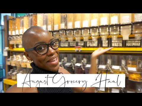 Grocery Haul For ONE |  August 2019  | STACEY FLOWERS