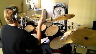 36 Crazyfists - The All Night Lights Drum Cover