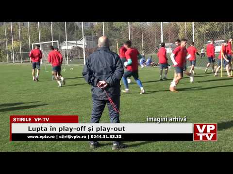 Lupta în play-off și play-out