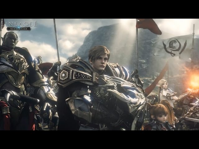 Lineage II: Revolution CG Full Version 60FPS - Unreal Engine 4 - Netmarble Mobile