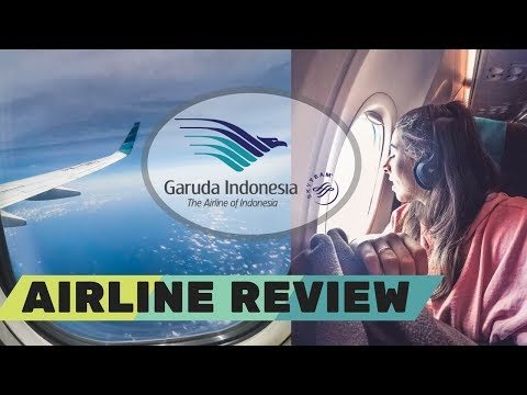 GARUDA INDONESIA Airline Review - Economy London Heathrow To Perth