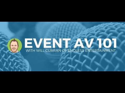 Basic Audio Visual Training With Will Curran - YouTube