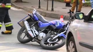 Krosno. Wypadek na skrzyżowaniu ul. Tysiąclecia i Naftowej