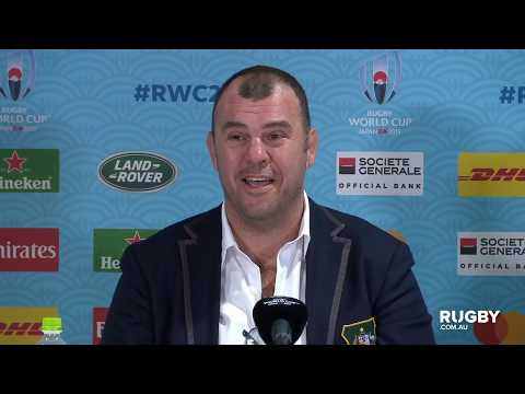 Rugby World Cup 2019: Australia vs Wales, Wallabies press conference