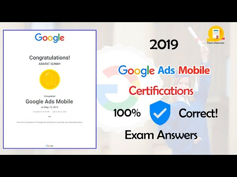 Google Ads Mobile Exam Guidelines 2020 | 100 ... - YouTube