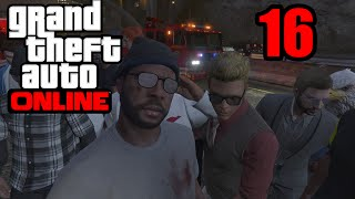 GTA 5 Online PS4 - COPS AND ROBBERS! (GTA V Online PS4)   Part 16