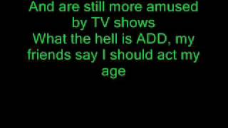 Blink 182 Whats My Age Again (lyrics)