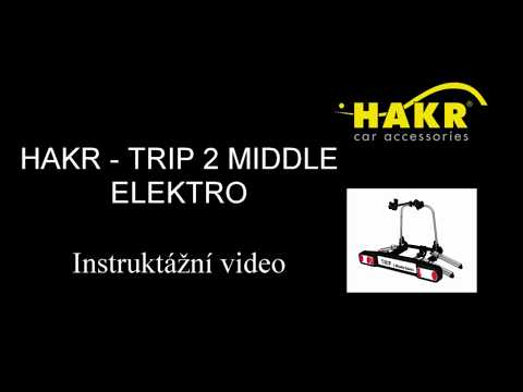 Nosič elektrokol na tažné zařízení HAKR TRIP ELEKTRO MIDDLE