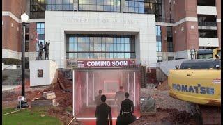 Alabama Football Adding New Tunnel For Players Underneath Bryant-Denny Stadium
