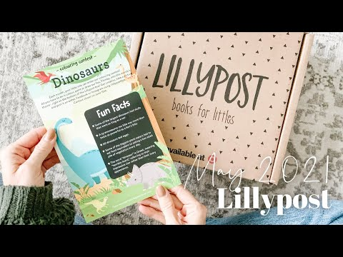 Lillypost Unboxing May 2021