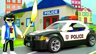 Мультики про машинки - Поджёг в Полицейском участке. Мультфильм для детей 2017