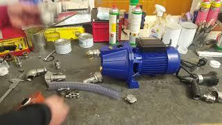 Sauganschluss für Brunnenpumpen - Teil 2: Anschluss an die Pumpe