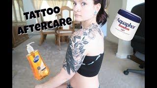 How to take care of a Healing Tattoo | Alyssa Nicole |