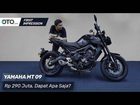 Yamaha MT-09 | First Impression | Rp 290 Juta, Dapat Apa Saja? | OTO.com