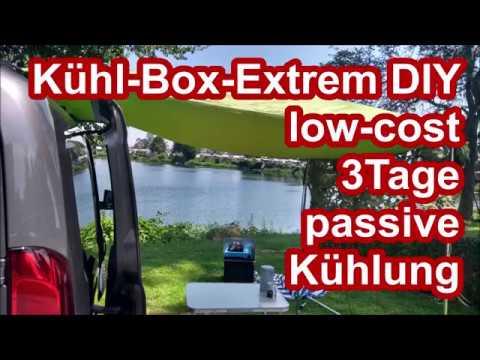 Kühlbox extrem DIY - Minimalismus Style