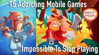 15 Addicting Games That Are Impossible To Stop Playing | Vertical Screen | Android iOS