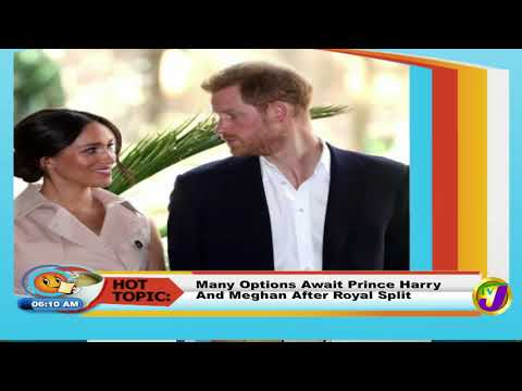 TVJ Smile Jamaica: Hot Topic Prince Harry & Meghan After Royal Split - January 20 2020
