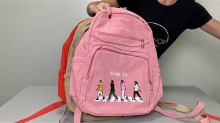 "Городской рюкзак ""Прекрати это"" от компании Интернет-магазин рюкзаков Backpack4you. com. ua - видео"