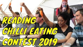 Reading Chilli Eating Contest 2019