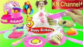 BÉ NA NẤU ĂN ĐỂ CẢM ƠN CÁC BẠN THÀNH VIÊN | KN Channel tiệc sinh nhật tháng 5