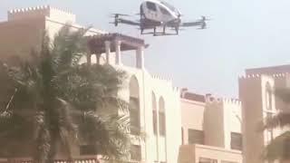 Flying Drone Taxi In Qatar