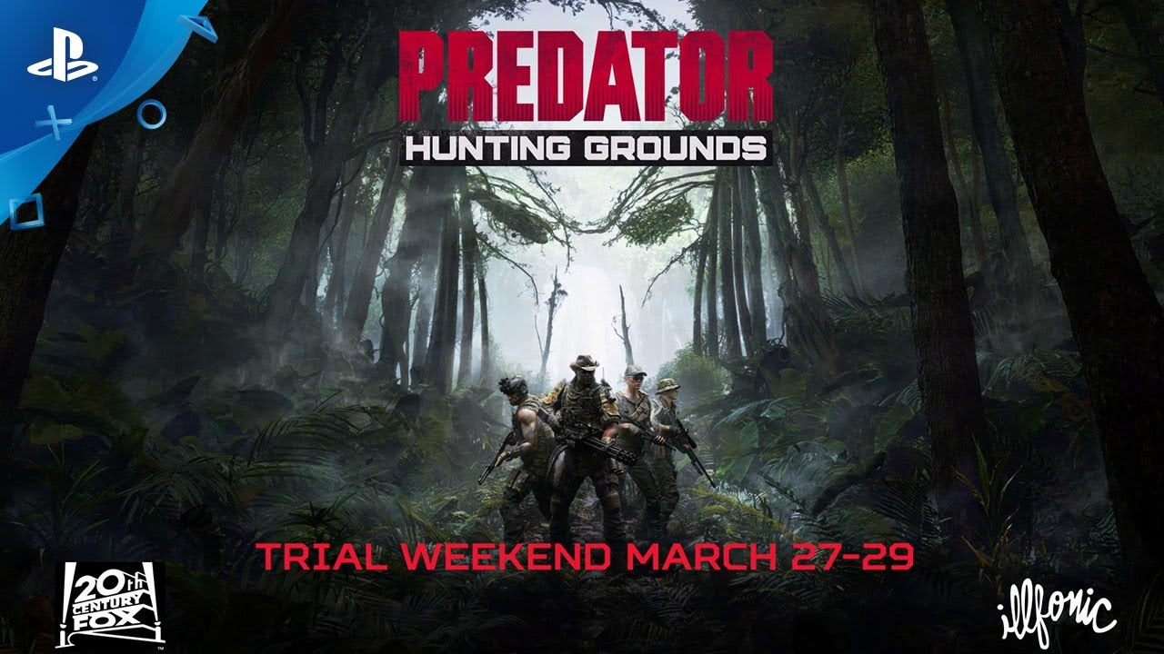 Predator: Hunting Grounds Trial Weekend Starts March 27