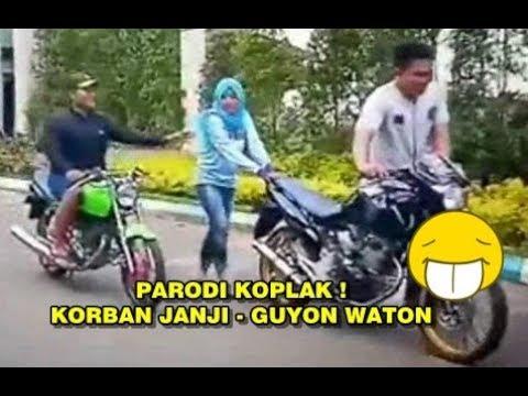 , title : 'PARODI LUCU LAGU KORBAN JANJI   GUYON WATON VERSI ANAK MOTOR'