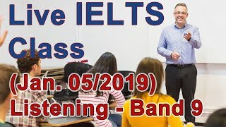 IELTS Live Class - Listening Practice for Band 9