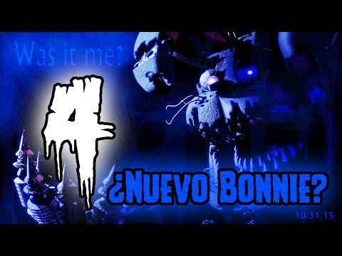 New Teaser De Five Nights At Freddy's 4 - ¿Nuevo Bonnie? | FNAF 4