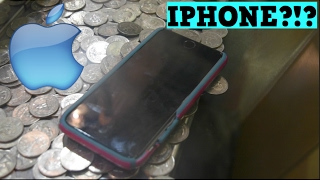 COIN PUSHER || IPHONE 7 ON THE EDGE!!!