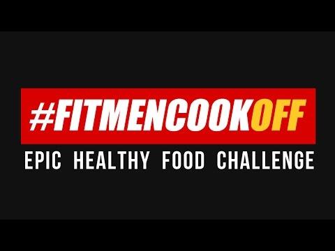 Bodybuilding.com #FitMenCookOFF Epic Food Challenge / Reto de #FitMenCookOFF