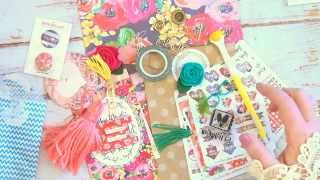 Planner And Sticker Society October 2015 Unboxing Kit With Christy Tomlinson