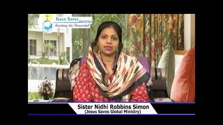 Victory Over Darkness With God | Sis. Nidhi Robbins Simon | Prayer Time | Shubhsandeshtv