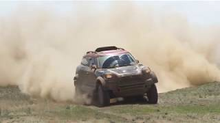 Yazeed Al Rajhi & Timo Gottschalk at Silk Way Rally 2018, securing the 1st position, En.
