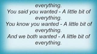 Air Supply - A LIttle Bit Of Everything Lyrics