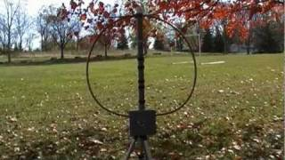 helically loaded magnetic loop antenna - मुफ्त
