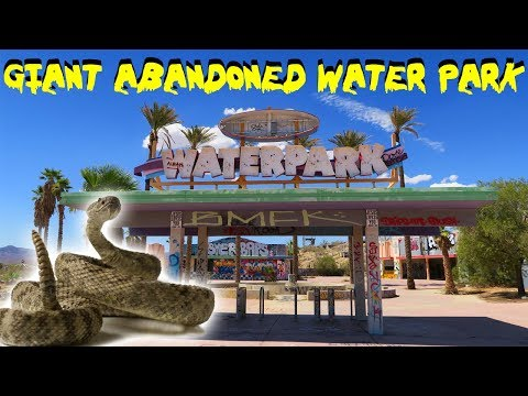 24 HOUR OVERDAY CHALLENGE ABANDONED WATER PARK IN THE DESERT! EXTREME DESERT HEAT CHALLENGE