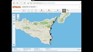 Sicilia 240 Km In Bici Da Corsa